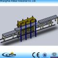 Descontínua do plutônio sanduíche Roll Machine painel dá forma à máquina em excelente qualidade