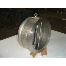 Stainless Steel Wafer Type Dual-piring katup