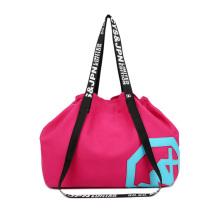 Canvas Travel Duffel Shoulder Sport Drawstring Gym Bag For Women Duffel Bag Gym Women Pink Bags Travel