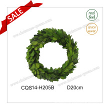 D20cm Decorative Flowers&Wreaths Type Preserved Boxwood Glass Ornaments