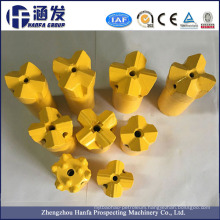Chisel Cross Drill Bits for Pneumatic Rock Drills