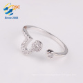 Wholesale fashionable custom silver jewelry twelve constellations Leo ring