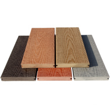 recycled material wpc hollow high density outside floor covering