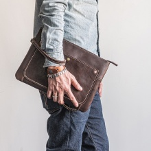 New Design Herren Leder Handtaschen und Handtaschen