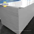 JINBAO factory supply 4x8 PVC foam board forex board for sign construction