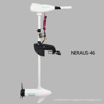 Neraus Vessels 46 Pound Thrust 8 Speed Electric Trolling Motor