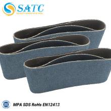 Wholesale tissu de mélange d'oxyde de zirconium backing bande de ponçage
