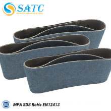 Wholesale zirconium oxide blend cloth backing sanding belt