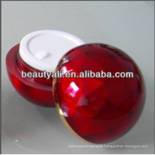 20ml 30ml 50ml Ball Shape Diamond Acrylic Cream Jar