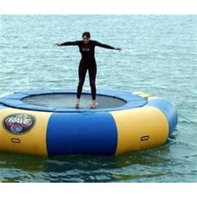 High Density Inflatable Water Trampoline For Playground / Amusement Park Equipment