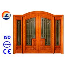 Klassisches Design Meranti Foliding Holztür
