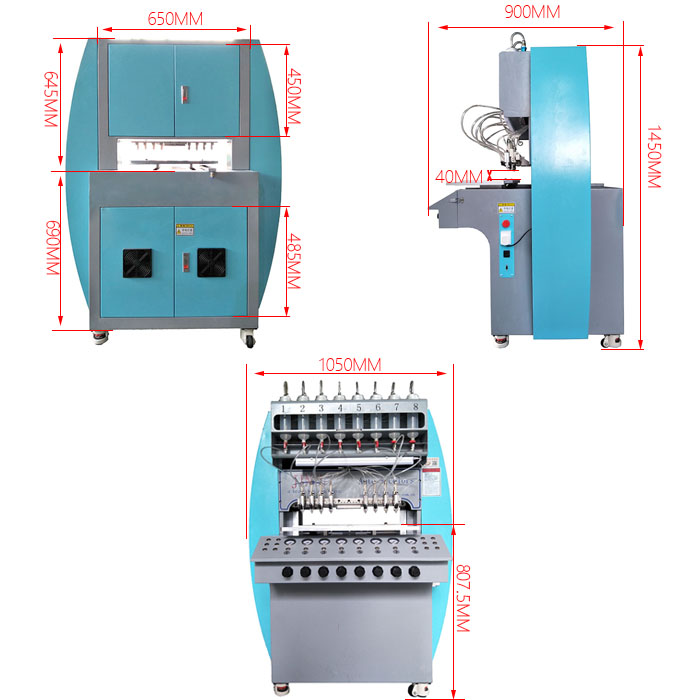 automatic pvc label dispenser machine