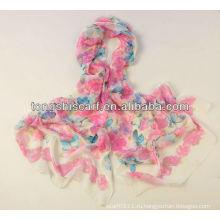 HD247-648 напечатано шифоновое жоржетта шарф