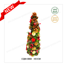 Attrayant H51cm en plastique Noël Pine Cones et Christmas Ball for Party