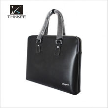 Office Men's Cowhide Bags Leather Computer Handbags For Wholesale