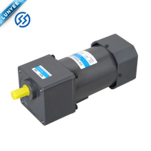140w 1ph 3ph light weight ac induction motor with gearbox