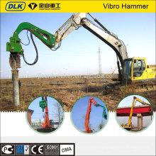 excavator mounted vibratory pile hammer