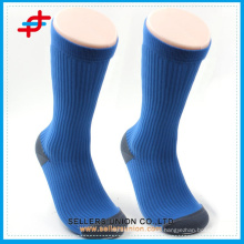 2015 Navy Blue Funktionelle Coolmax Benevolent Männer Sport Kompression Socken