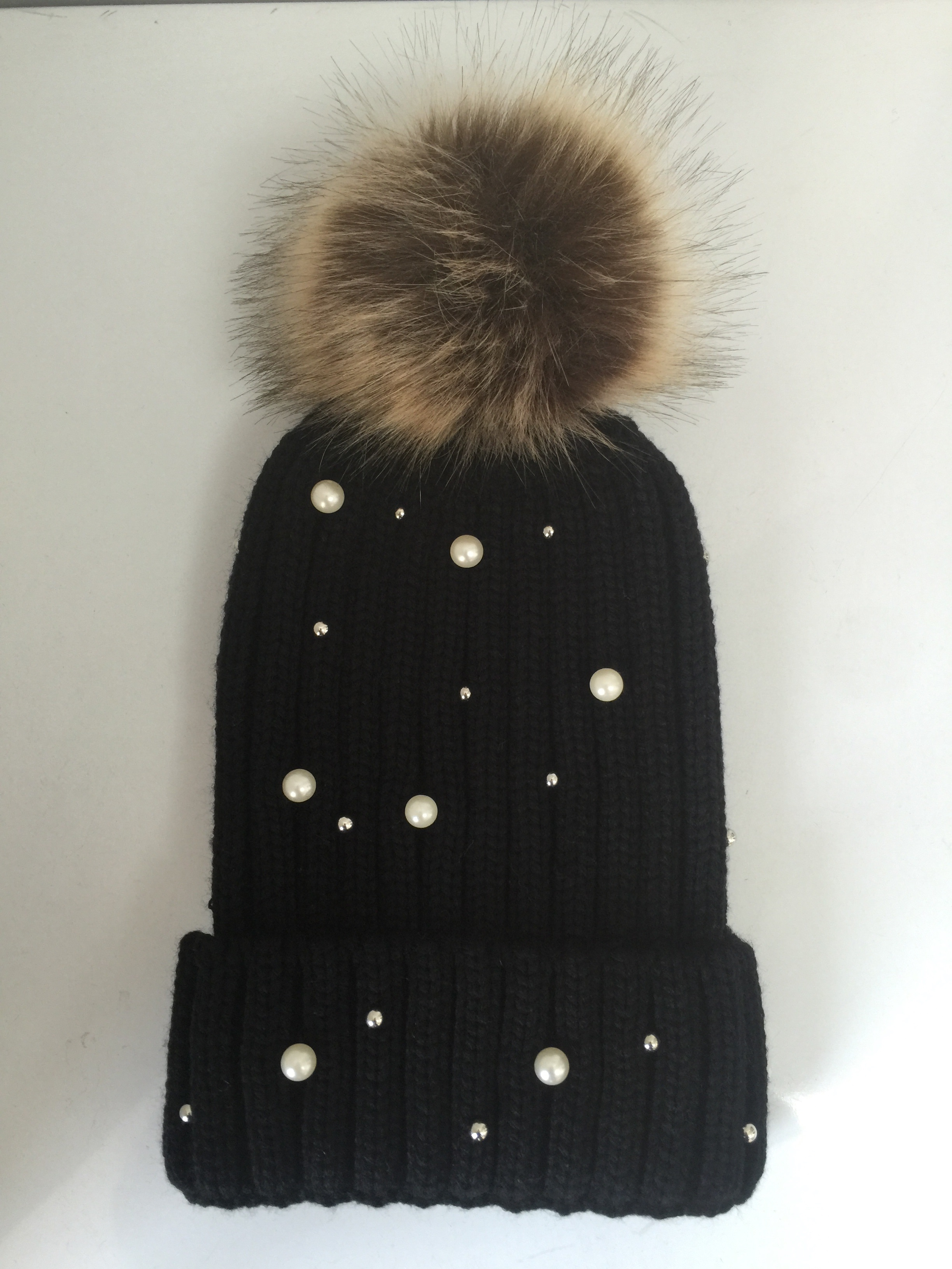 Bead Kniting Winter Knitting Hat