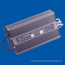 IP67 200W LED Driver DC12V Waterproof Power Supply for LED Lamp