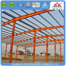 Bâtiment préfabriqué en structure moderne en acier confortable