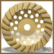 Plaque de meulage Turbo Diamond pour béton en pierre