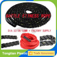 Batalha de corda para venda equipamentos de ginástica / crossfit power rope para treinamento