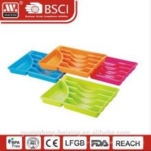 Suporte conjunto de talheres de plástico