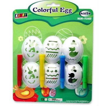 Conjunto de tintas para ovos de 4 cores
