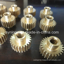 Customized Brass Die Casting Spur Gear