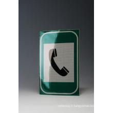 Acrylique haute intensité Grade Film matériau réfléchissant pour la sécurité routière autoroute directeurs signe (TM1800)