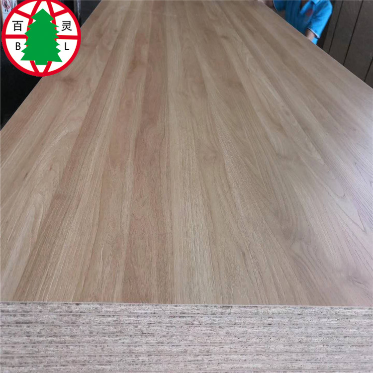 OSB construction Board laminated with melamine paper