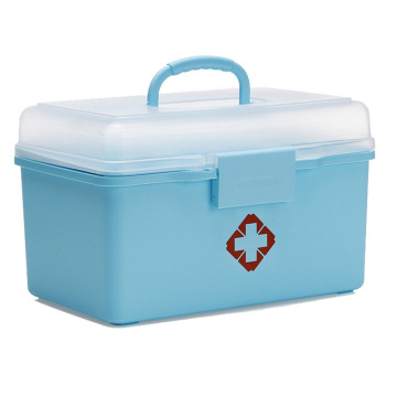 Plastic Medicine Storage Box for Home Storage (SLSN058)