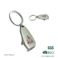 Beer Shaped Printed Logo Keychain (xd-082615)