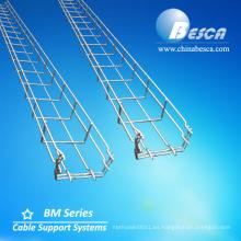Bandeja de cable de malla de alambre SS316 con certificado NEMA-VE-1