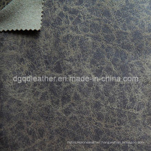 High Quality Breathable PU Furniture Leather (QDL-FB0021)