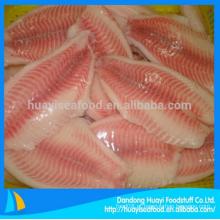 Congelados por atacado tilapia filé de peixe com preço superior