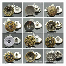 Metal Jeans Buttons, Jacket, Trouser Sweater Buttons