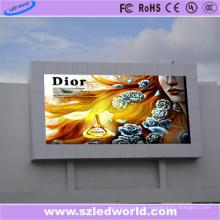 Painel exterior da exposição da tela da propaganda do diodo emissor de luz de AC220V P8