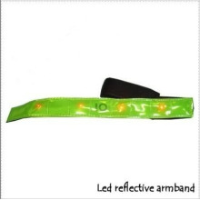 LED Reflective Armband with CE En13356