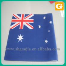 Mini bandeira de bandeira de mão usada impressão de Austrália de roupa