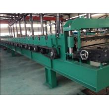 Machine de formage de rouleaux de pont métallique avec pré-découpe