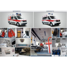Ambulance for hospital use