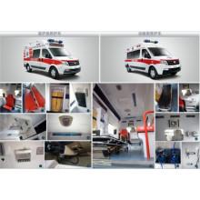 Ambulance à usage hospitalier