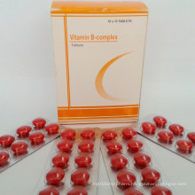 GMP Certified Tablets Complex Vitamin B
