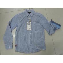 Camisas de manga comprida camisas de algodão camisas masculinas