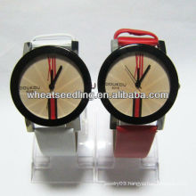 good quality couple wrist watches for lover gift leather watch strap