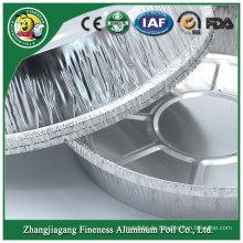 Wegwerfbarer Aluminiumfolie-Behälter besonders angefertigt