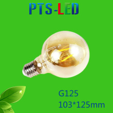 G125 4W 6W 8W 400-900lm a Filament de LED Dimmable ampoule