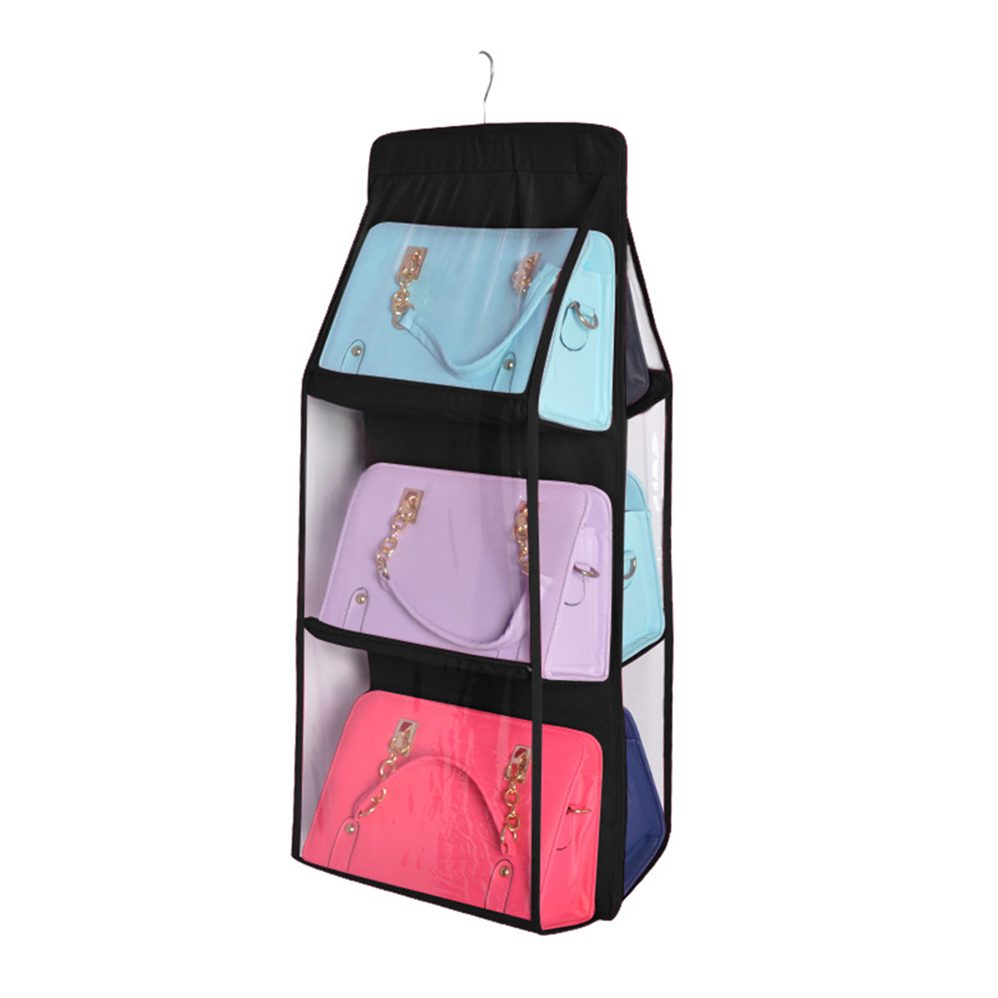 Dual-Side Hanger for Handbags